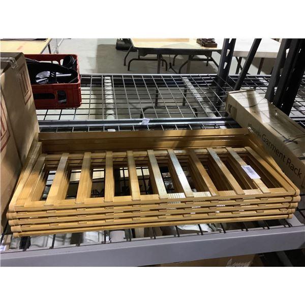 Udear Bamboo 5-Tier Shoe Rack