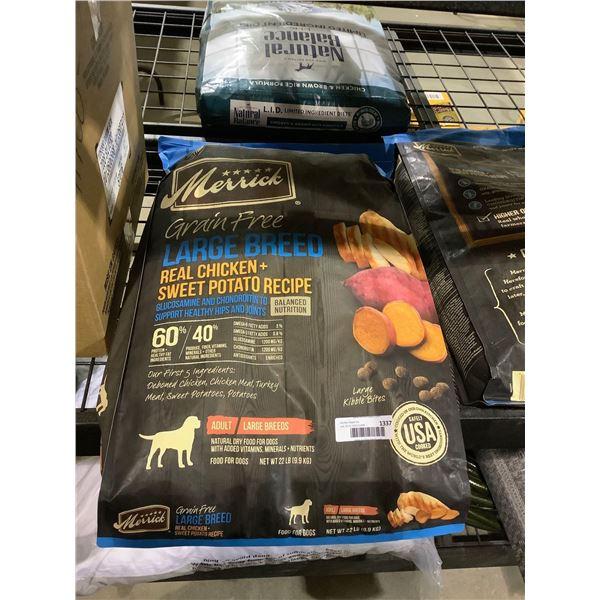 Merrick Grain Free Large Breed Adult Dog Food (9.9kg)