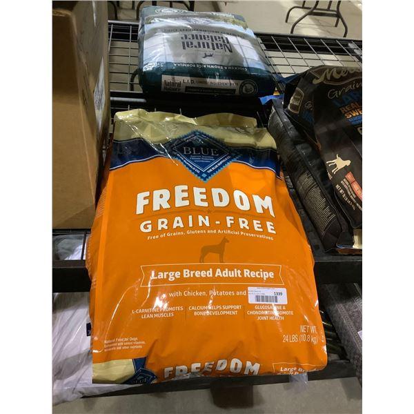 Blue Buffalo Grain Free Large Breed Adult Dog Food (10.8kg)