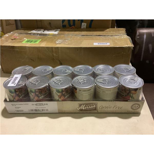 Merrick Cowboy Cookout Dog Food (12 x 360g)
