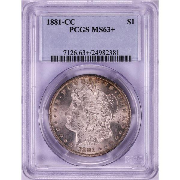 1881-CC $1 Morgan Silver Dollar Coin PCGS MS63+