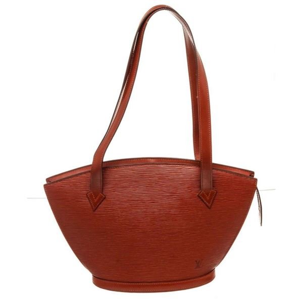 Louis Vuitton Red St. Jacques PM Tote Bag