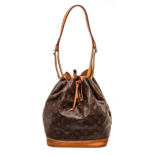 Louis Vuitton Brown Monogram Noe GM Bucket Bag