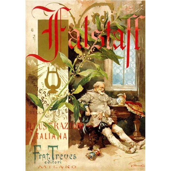 Unknown Artist - Verdi Falstaff