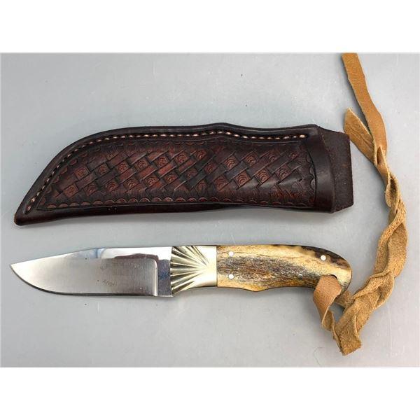 Handmade Swearingen Knife with Sheath