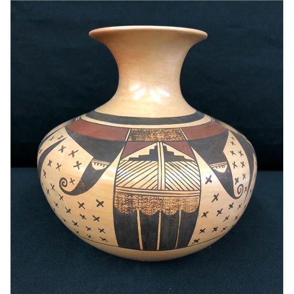 Hopi Pottery Jar by White Swann (Dolly Joe Navasie)