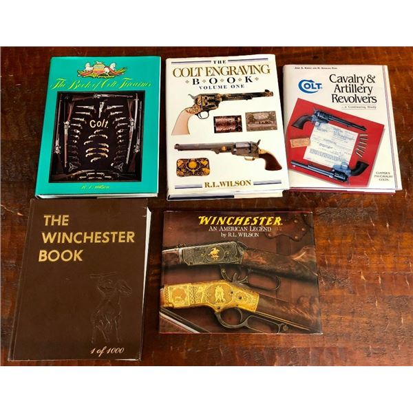 Group of Western Coffee Tables Books - Colt and Winchester