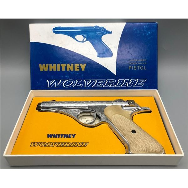 Whitney Wolverine with Original Box - Engraved