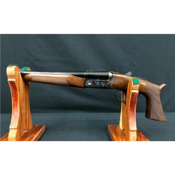 """Pedersoli """"Howdah"""" Double Barrel Pistol Like New with Case"""