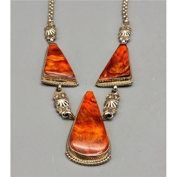 Lovely Spiny Oyster Necklace
