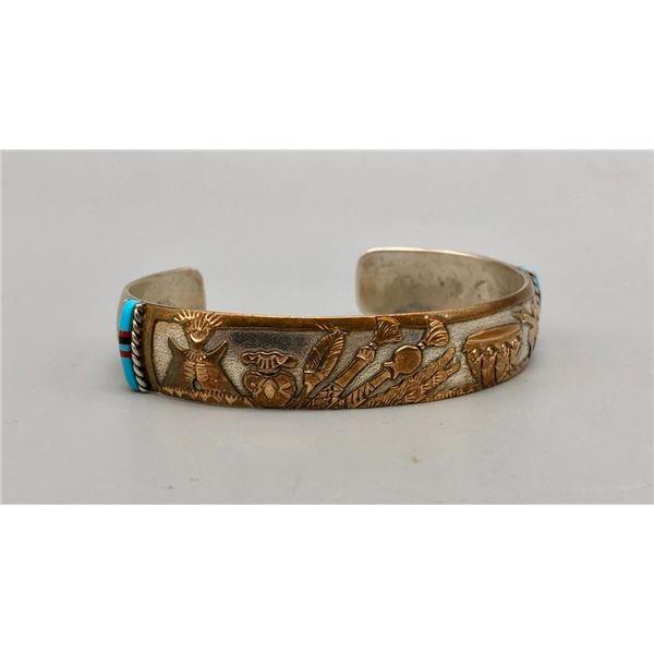 Sterling Silver and Gold Fill Storyteller Bracelet