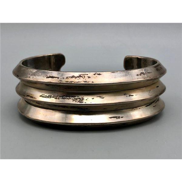 Large Size Heavy Duty Sterling Silver Bracelet