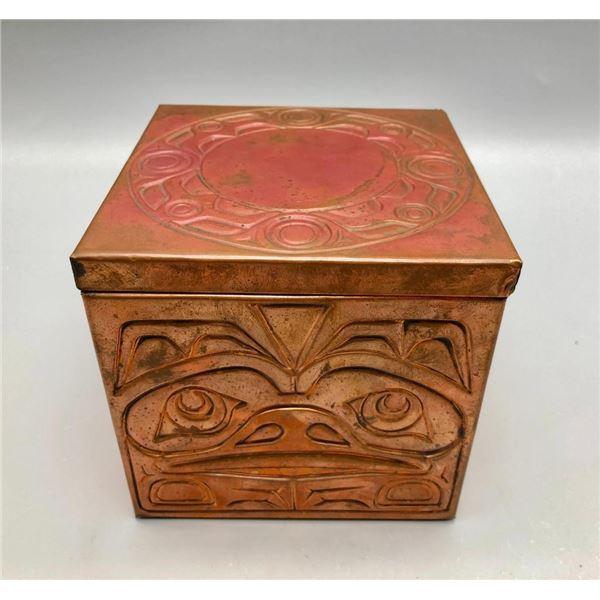 Vintage Halda Copper Box by Elijah Michner