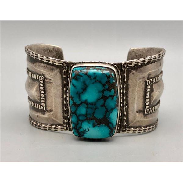 Great Handmade Turquoise Bracelet by Jock Favour