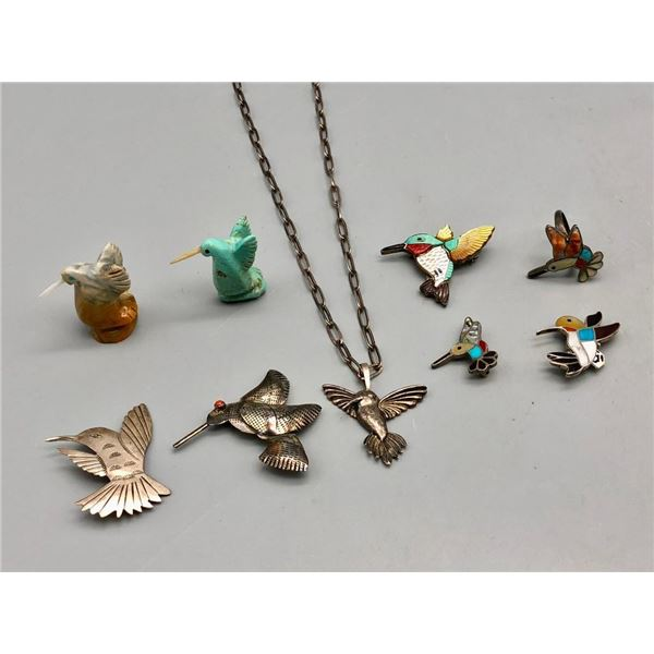 Miscellaneous Hummingbird Themed Jewelry