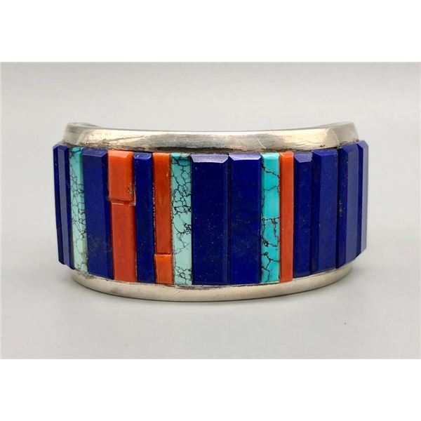Exquisite Multi Stone Bracelet by Richard Begay