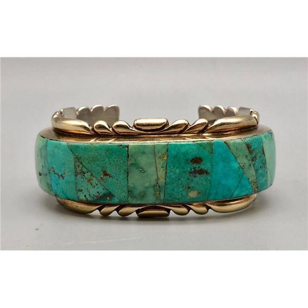 Wayne Quam 14k over Silver Bracelet