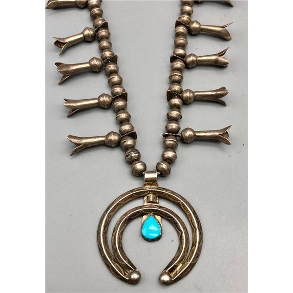 Mid Century Squash Blossom Necklace