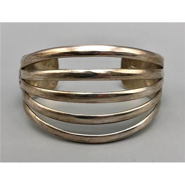 Sterling Silver Bracelet by Johnny Mike Begay