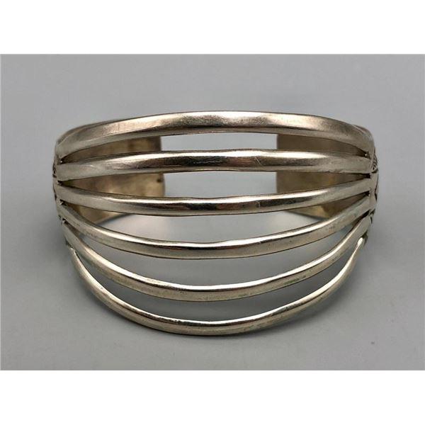 Sterling Silver Bracelet- Signed WB