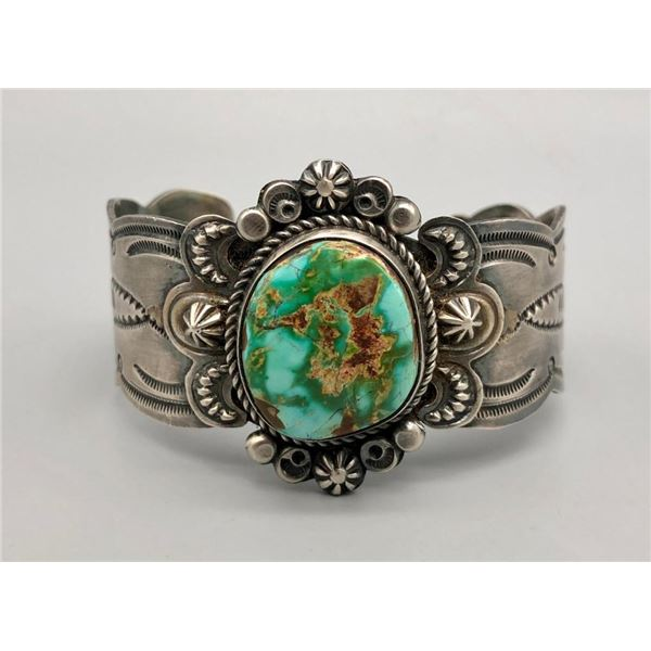 Turquoise Bracelet by Dean Sandoval Jr.