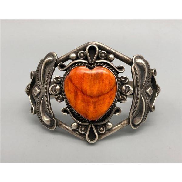 Heart Spiny Oyster Bracelet by Dean Sandoval