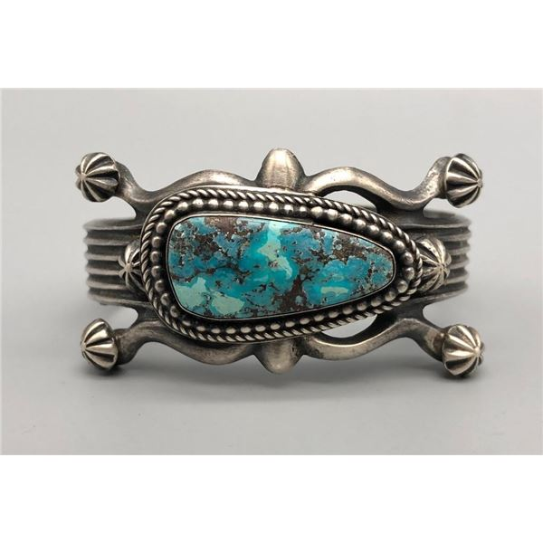 Wonderful Turquoise and Sterling Silver Bracelet