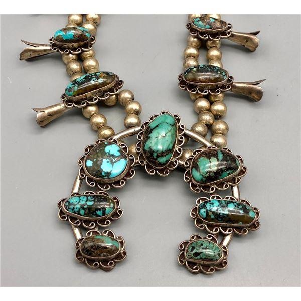 Beautiful Vintage Squash Blossom Necklace