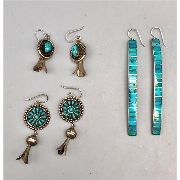 Group of Exquisite Vintage Earrings
