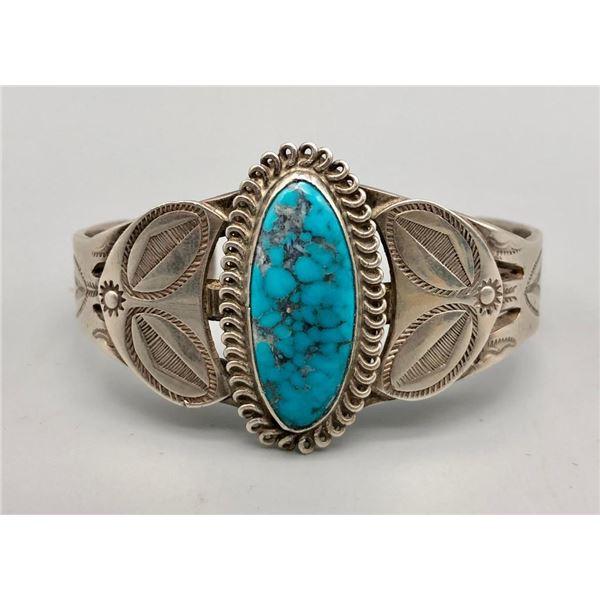 Handsomely Handmade Turquoise Bracelet