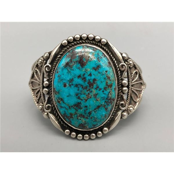 Gorgeous Large Turquoise Stone Bracelet