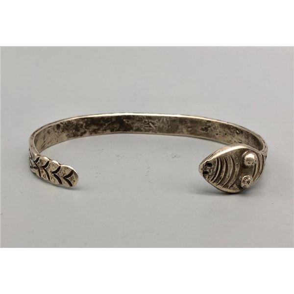 Old Handmade Ingot Snake Bracelet