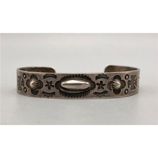 1930s Ingot Bracelet with Numerous Symbols