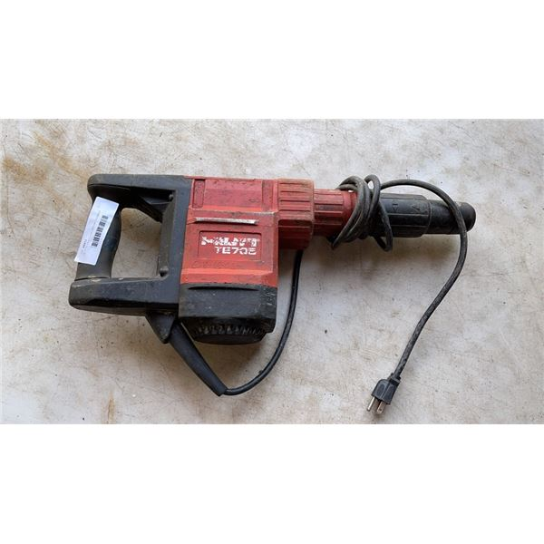 HILTI TE 705-ATC/AVR ROTARY HAMMER - NOT WORKING, DOES NOT HAMMER
