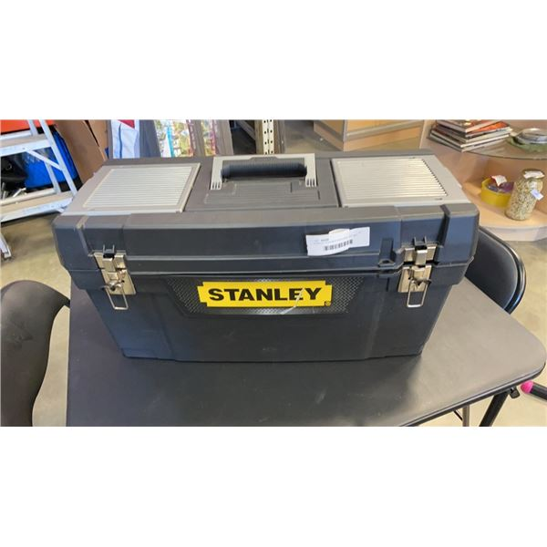 STANLEY TOOLBOX WITH DRILL BIT SET, AUTO REPAIR KITS, TOOLS