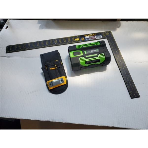POWER+ 2.0Ah Arc Lithium Battery 56v with square and DeWalt tool holder