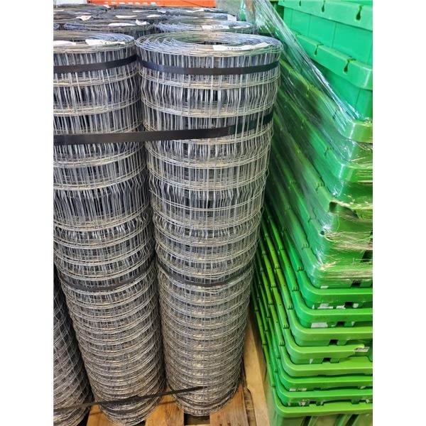 """LARGE SINGLE ROLL OF MESH 48"""" TALL FENCING VARYING LENGTHS"""
