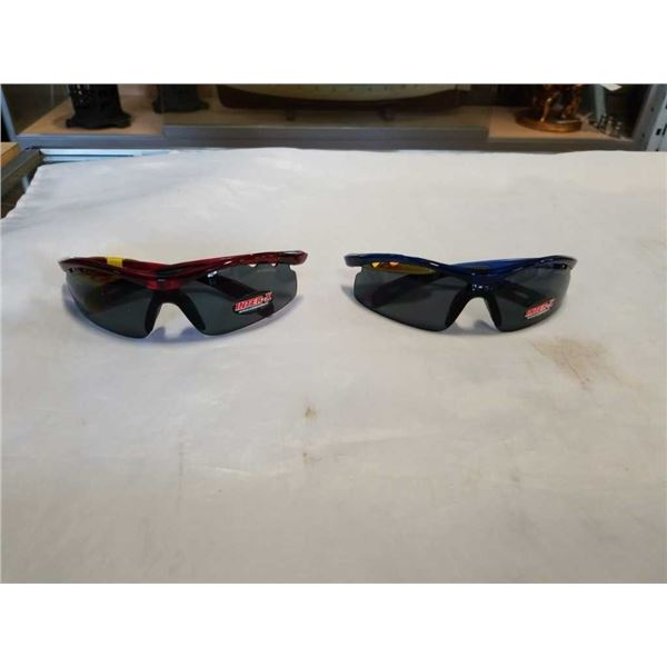 2 NEW PAIRS RYDERS AERO R196 SUNGLASSES - RETAIL $98