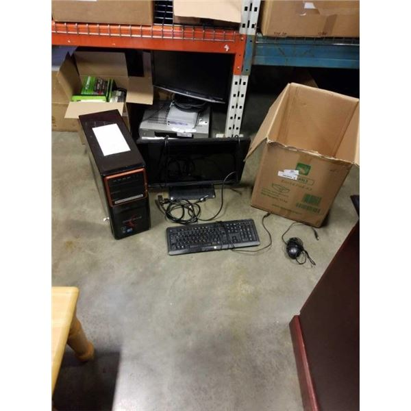 GATEWAY GAMING COMPUTER I7 WITH WINDOWS 10, 2TB HARD DRIVE, 12GB DDR3 RAM, GTX GEFORCE 260 GRAPHICS