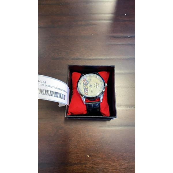 TAG HEUER MIKRO TOURBILLONS WATCH, authenticity not guranteed