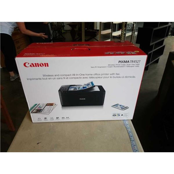 AS NEW CANON PIXMA TR4527 WIRELESS ALL IN ONE PRINTER TESTED WORKING