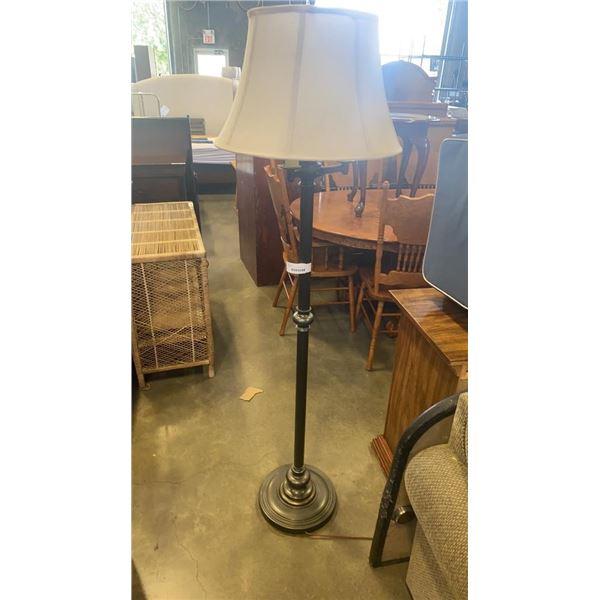 VINTAGE 4 LIGHT FLOOR LAMP