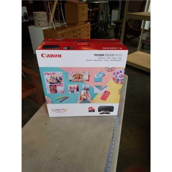 AS NEW CANON PIXMA TS5320 WIRELESS ALL IN ONE PRINTER TESTED WORKING