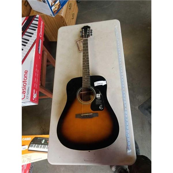 AS NEW EPIPHONE FT-100 VS ACOUSTIC GUITAR