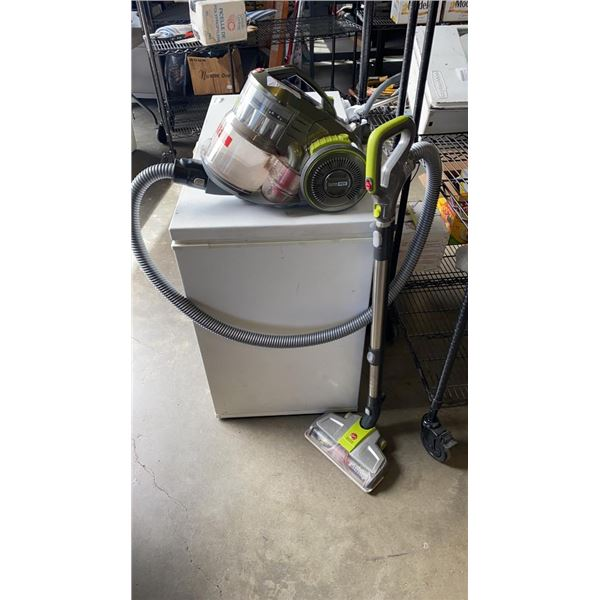 Hoover canister cyclone vac working