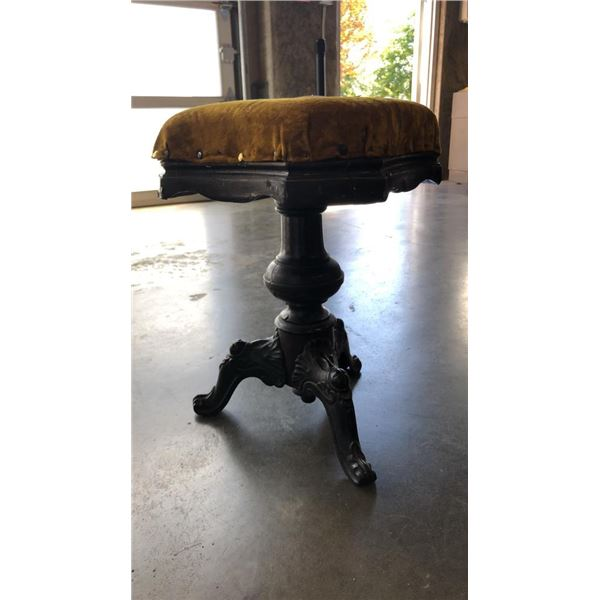 ANTIQUE PIANO STOOL FROM 1920s