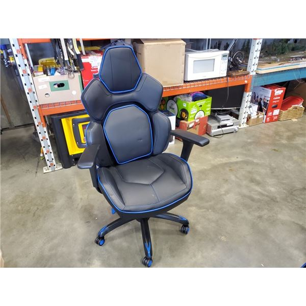 As new DPS 3D Insight Gaming Chair Blue Retail $319