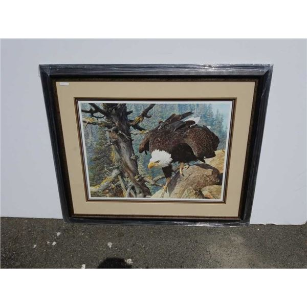 Limited edition print the Monarch is alive by Carl brenders signed and numbered