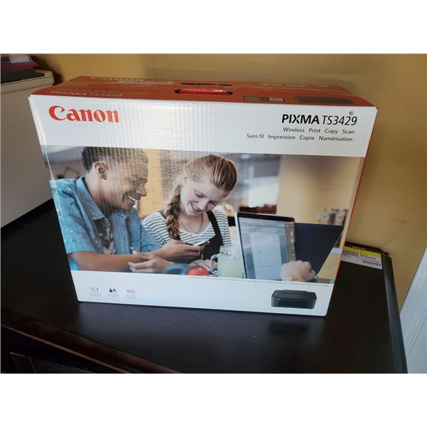 AS NEW CANON PIXMA TS3429 WIRELESS PRINT COPY SCAN DOCUMENT MAKER TESTED AND WORKING