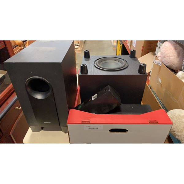 ONKYO SPEAKERS AND SUBS